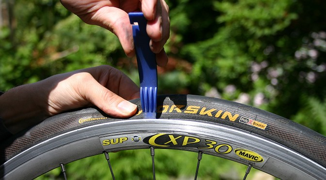 Sådan lapper du en cykel