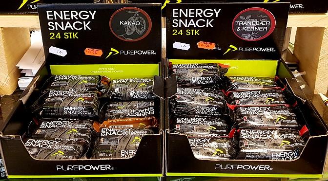 PUREPOWER energiprodukter på tilbud